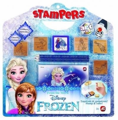 Zestaw pieczątek Frozen
