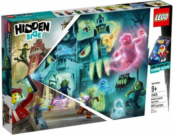 Lego Hidden Side: Nawiedzone liceum w Newbury (70425)