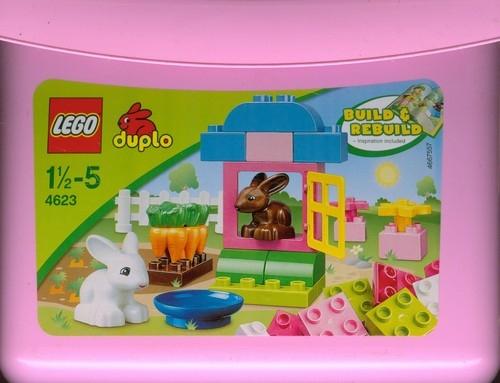 Lego duplo Różowy zestaw klocków  (4623)