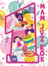 Karnet Urodziny B6 - Roczek (różowa)