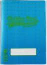 Zeszyt A5/60K kratka Neon blue