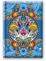 Kalendarz 2020 Dzienny B6 Soft Folk nieb. 41DS-01