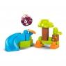 Mega Bloks First Builders - Klocki A kuku Zestaw Zjeżdżalnia i Panda (GKX66/GKX68)