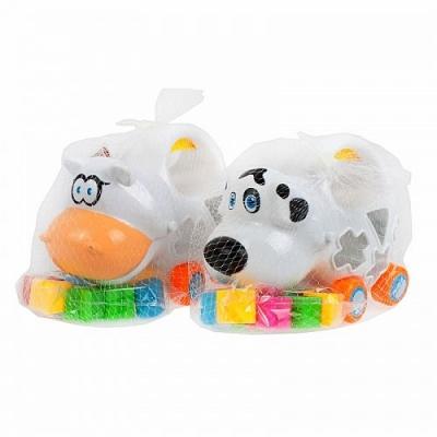 Zabawka edukacyjna Mega Creative sorter na kółkach (438098)