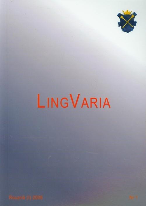 LingVaria 2006/1