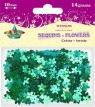 Cekiny Kwiaty 10 mm 14g