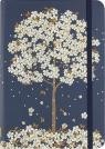 Notatnik mini - Spadające kwiaty