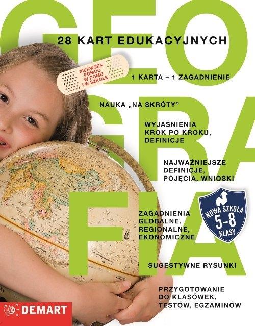 Karty edukacyjne Geografia