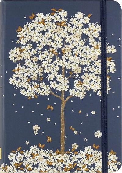 Notatnik mini Spadające Kwiaty