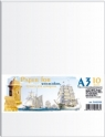 Papier Kraft do kreślenia i rysowania A3 10 arkuszy 200g/mg2