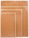 Tablica korkowa 50 cm x 70 cm w ramie drewnianej (CET57)
