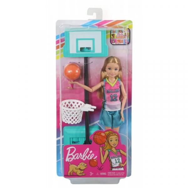 Barbie Dreamhouse Adventures: Lalka Sportowa Stacie - Koszykarka (GHK34/GHK35)