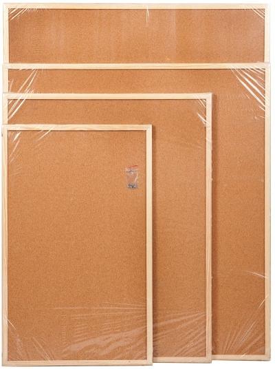 Tablica korkowa 50 cm x 70 cm w ramie drewnianej (CET57) CETUS-BIS