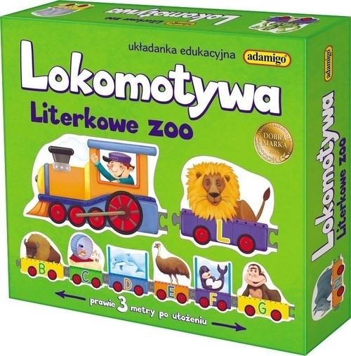 Lokomotywa Literkowe Zoo