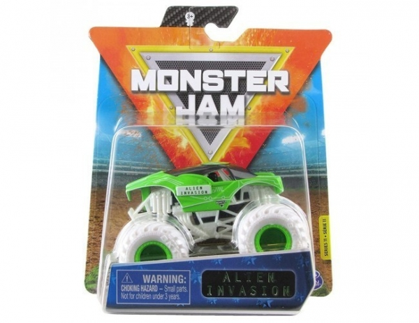 Pojazd MONSTER JAM Auto, Alien Invasion (6044941/20123299)