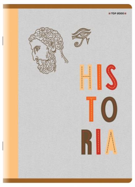 Zeszyt Top 2000 A5/60k, kratka z marginesem - Historia (400152058)