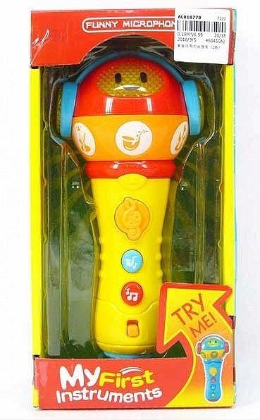 Mikrofon dla malucha ze światłem i dźwiękiem (AL018778)