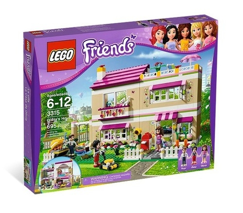 Lego Friends: Dom Olivii (3315)