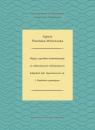 Wpływ czynników środowiskowych na oddziaływanie allelopatyczne bałtyckich Śliwińska-Wilczewska Sylwia