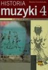 Historia muzyki 4 Podręcznik dla szkół muzycznych Gwizdalanka Danuta