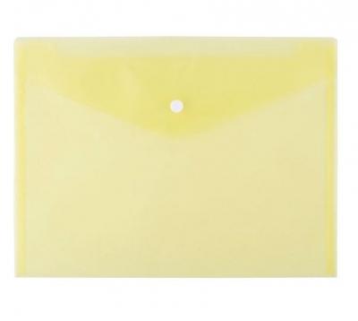 Teczka kopertowa A4 - żółta