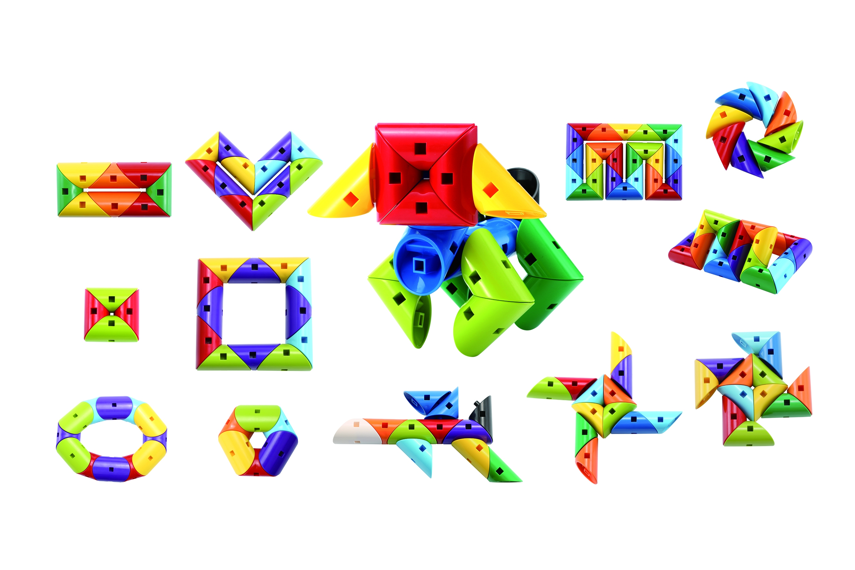 Klocki kształtki - 28 elementów (102221)