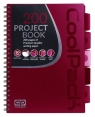 Coolpack Project Book - Kołobrulion A4 Red (94221CP)