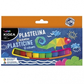 Plastelina Kidea, 12 kolorów (DRF-17942)