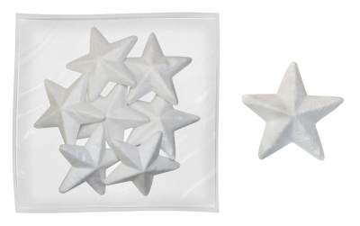 Dekoracje styropianowe gwiazdki (282948)