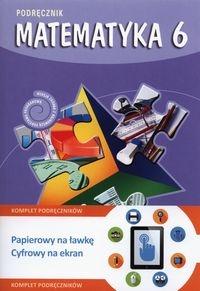 Matematyka z plusem 6 Podręcznik + multipodręcznik Dobrowolska Małgorzata, Zarzycki Piotr, Jucewicz Marta