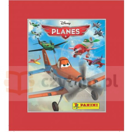 PANINI Planes Naklejki blister (048011)