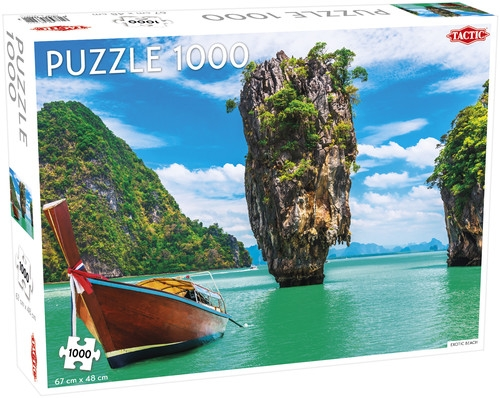 Puzzle 1000: Exotic Beach