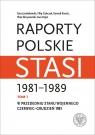 Raporty polskie Stasi 1981-1989