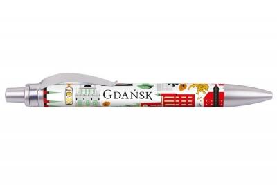 Długopis - Gdańsk symbole FOLKSTAR