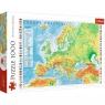 Puzzle 1000: Mapa fizyczna Europy (10605)