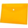 Teczka/koperta plastikowa na guzik Tetis A5 - pomarańczowa (BT610-P)