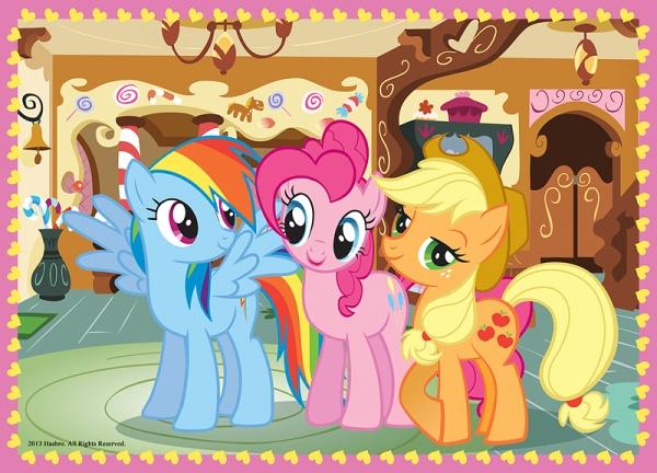 Puzzle 4w1: My Little Pony Puzzle - Wakacje kucyków (34153)