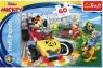 Puzzle 60: Disney Junior Mickey Rajd z przyjaciółmi