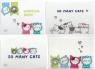 Teczka A5 plastikowa suwak So Many Cats (445705) mix wzorów
