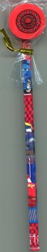 Ołówek z dużą gumką Auta 99