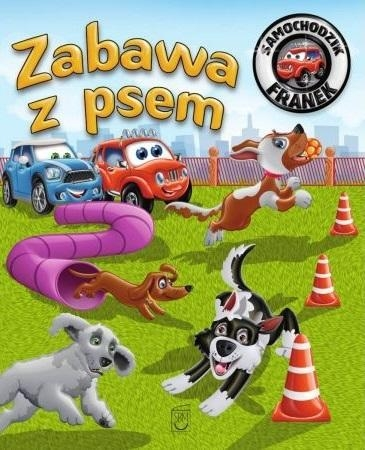 Samochodzik Franek. Zabawa z psem Karolina Górska