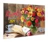 Kalendarz 2019 Kwiaty