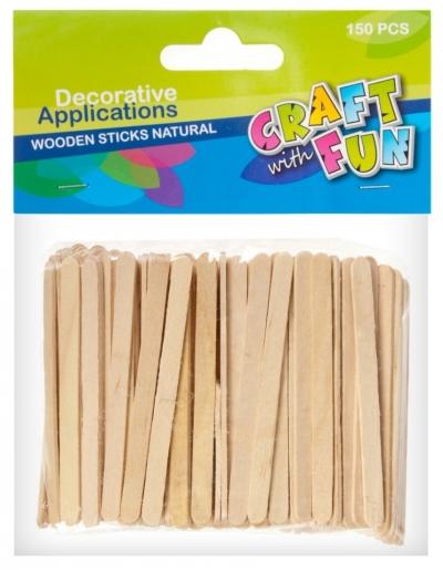 Ozdoba dekoracyjna drewniana patyki