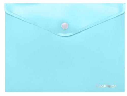CoolPack Pastel, Koperta na dokumenty A4 - niebieska (81223CP)