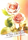 Karnet B6 Kwiaty W Dniu Urodzin FF1205