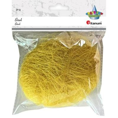 Sisal Grass 30g żółty (363109)