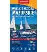 Mapa turystyczna - Wielkie Jeziora Mazurskie 1:50 000