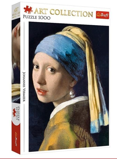 Puzzle Art Collection 1000: Dziewczyna z perłą (10522) (Zgnieciony kartonik)