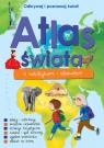 Atlas świata z naklejkami i plakatem