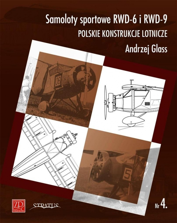 Samoloty sportowe RWD-6 i RWD-9 Glass Andrzej